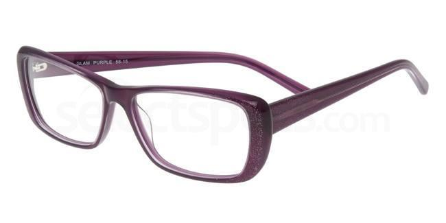 Glam Purple P038 Glasses, Booth & Bruce Design