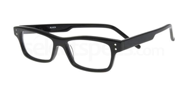 black 875 Glasses, Booth & Bruce Design