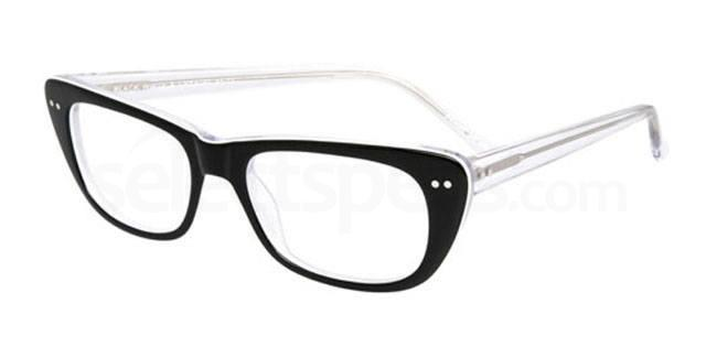 Black White and Crystal po62 Glasses, Booth & Bruce Design