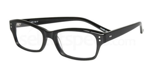 Black po67 Glasses, Booth & Bruce Design