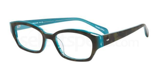 Aqua Tortoise po69 Glasses, Booth & Bruce Design
