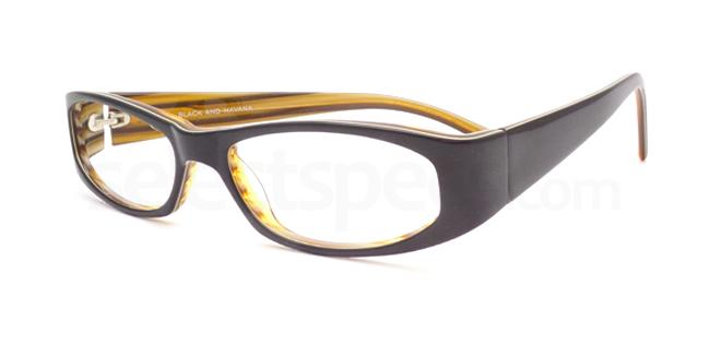 Black and Havana po06 Glasses, Booth & Bruce Design