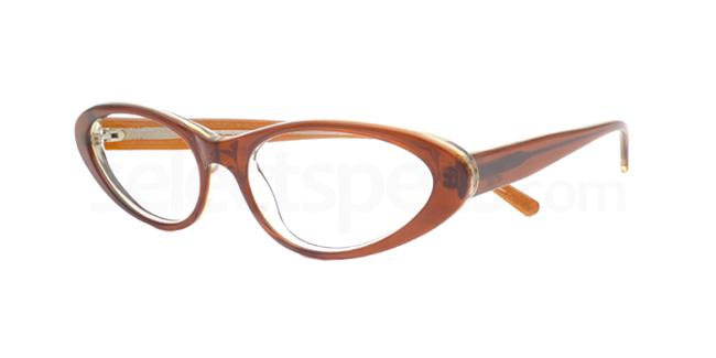 Frosty Brown po07 Glasses, Booth & Bruce Design