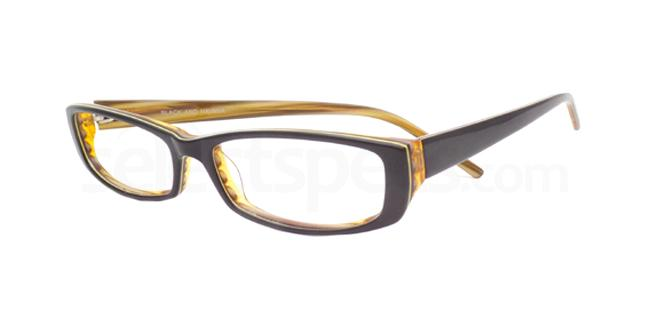 Black and Havana Po10 Glasses, Booth & Bruce Design