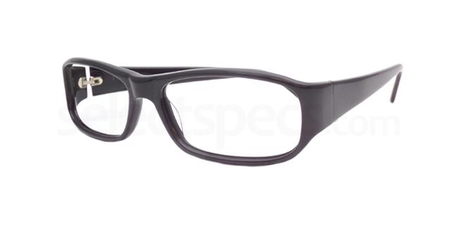 Black Po12 Glasses, Booth & Bruce Design