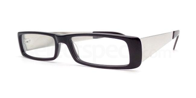 Black 805 Glasses, Booth & Bruce Design