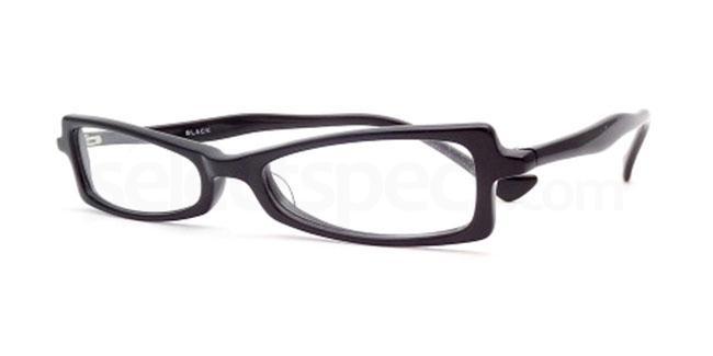 Black 809 Glasses, Booth & Bruce Design