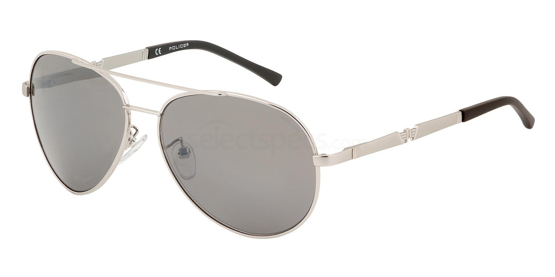 589X S8746 Mirror Sunglasses, Police