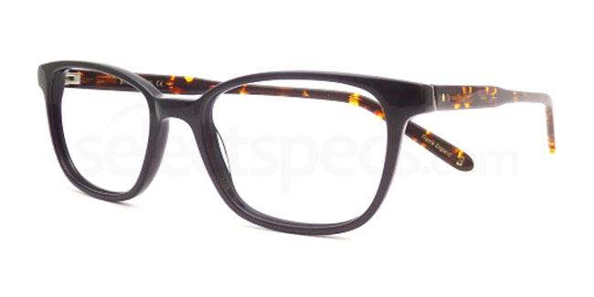 Black Amber BB1910 Glasses, Booth & Bruce Here and Now