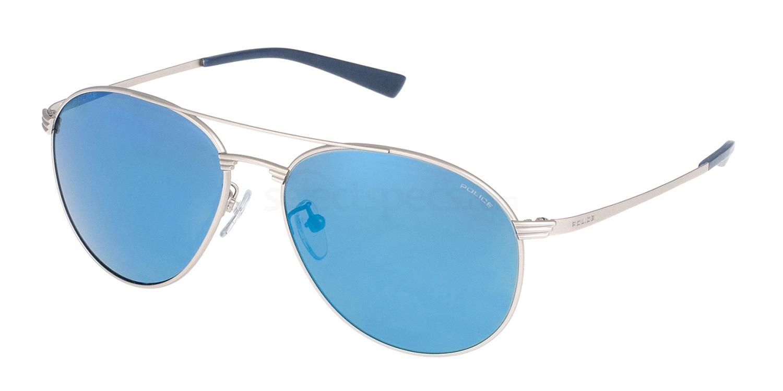581B S8953 Mirror Sunglasses, Police