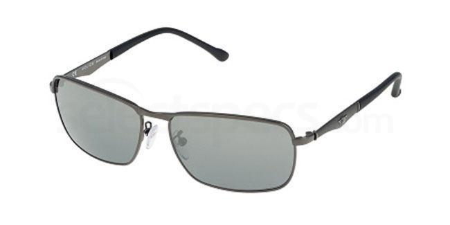 584K S8968 Mirror Sunglasses, Police