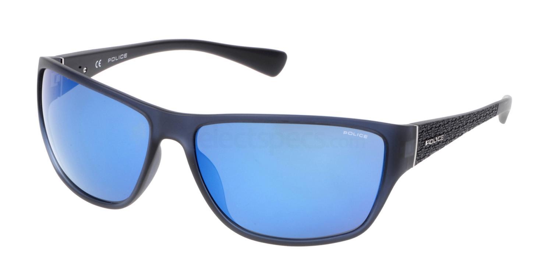 955B SPL144 Mirror Sunglasses, Police