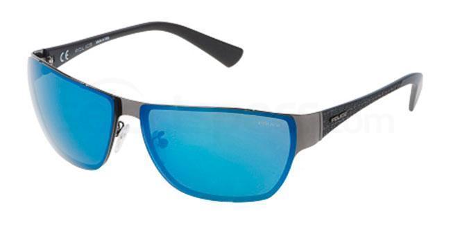 568B SPL145 Mirror Sunglasses, Police