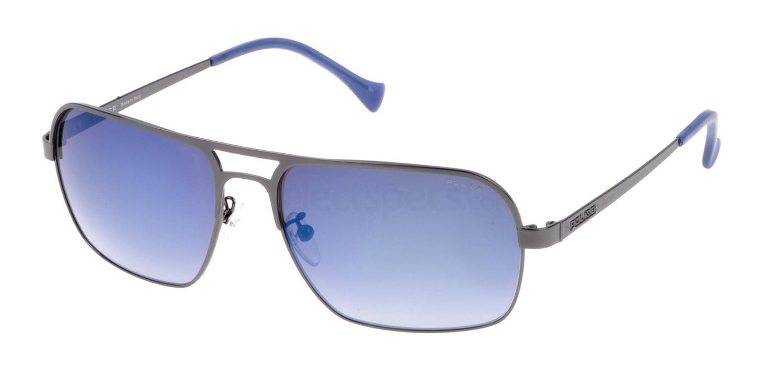 568B SPL147 Mirror Sunglasses, Police