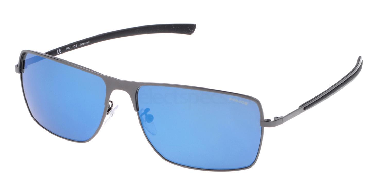 568B SPL149 Mirror Sunglasses, Police
