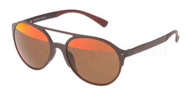 7E8H SPL163V Sunglasses, Police