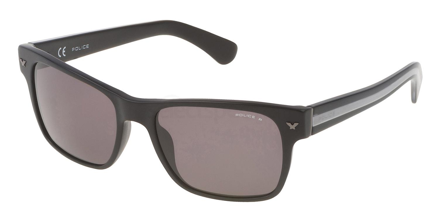 703P SPL165 Polarized Sunglasses, Police