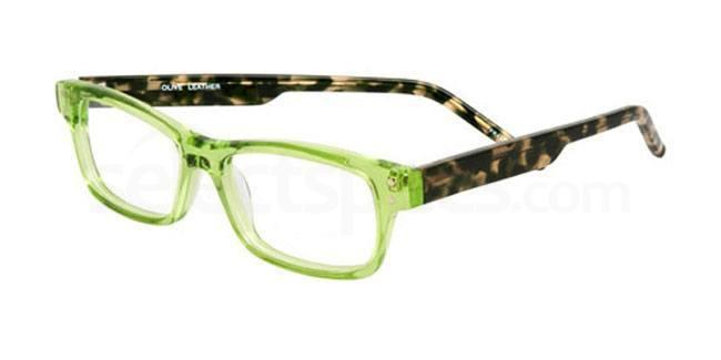 Olive Leather 875n Glasses, Booth & Bruce Classic