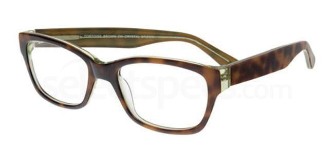 Tortoise Brown on Crystal Brown 883 Glasses, Booth & Bruce Classic