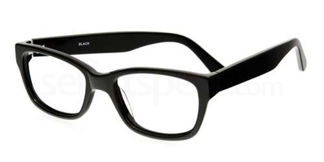 Black 883 Glasses, Booth & Bruce Classic