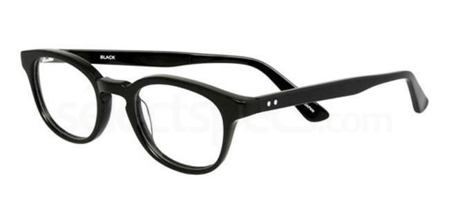 Black 910 Glasses, Booth & Bruce Classic