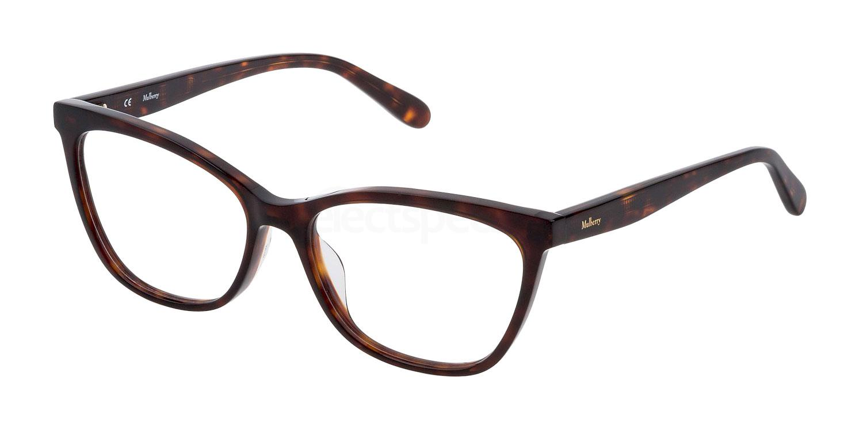 0909 VML053 Glasses, Mulberry