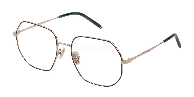0301 VML057 Glasses, Mulberry