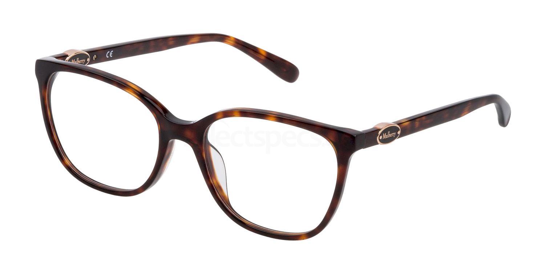0909 VML062 Glasses, Mulberry