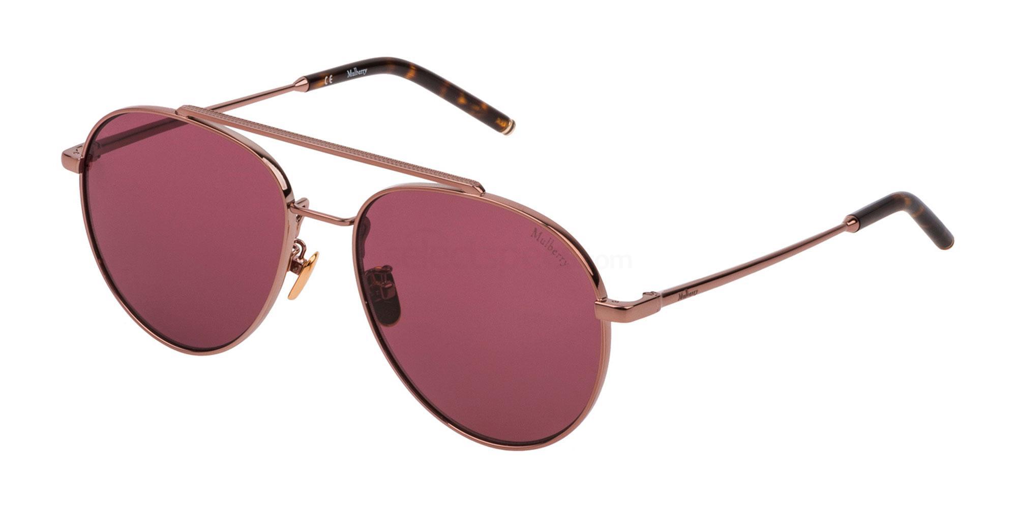 0R15 SML009 Sunglasses, Mulberry