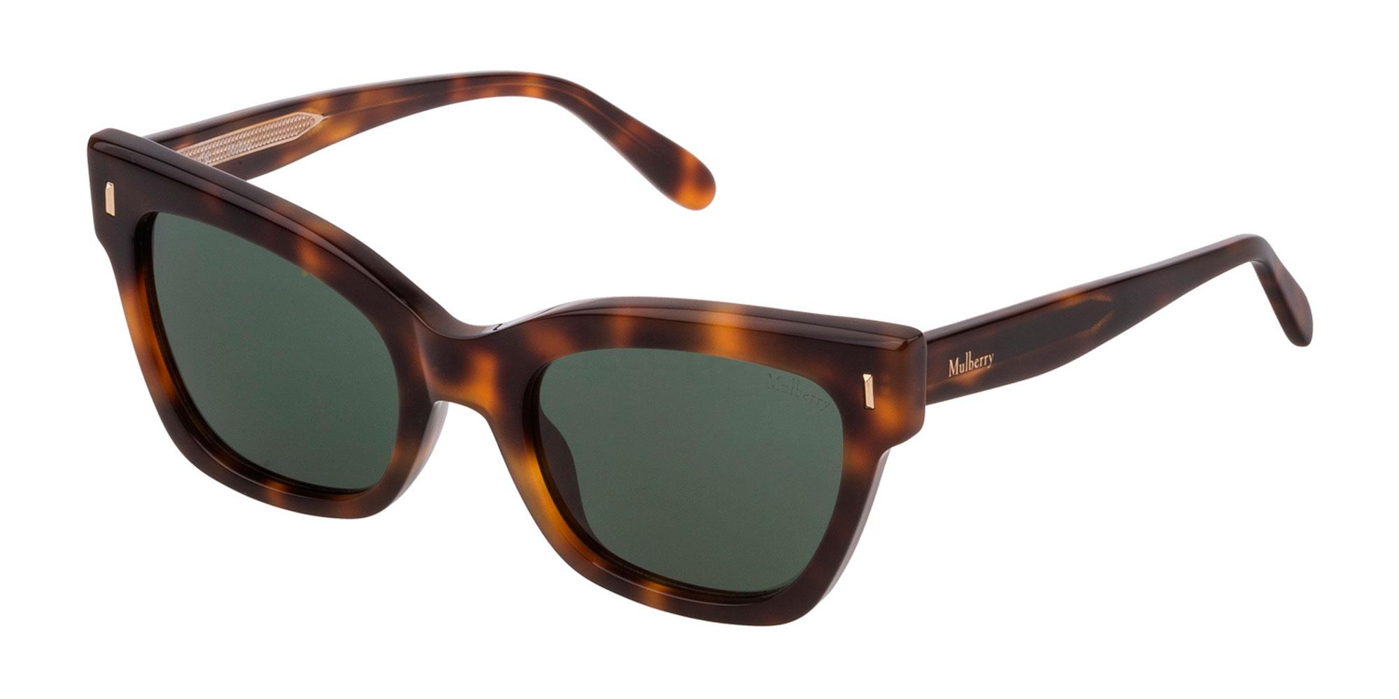 09AJ SML003 Sunglasses, Mulberry