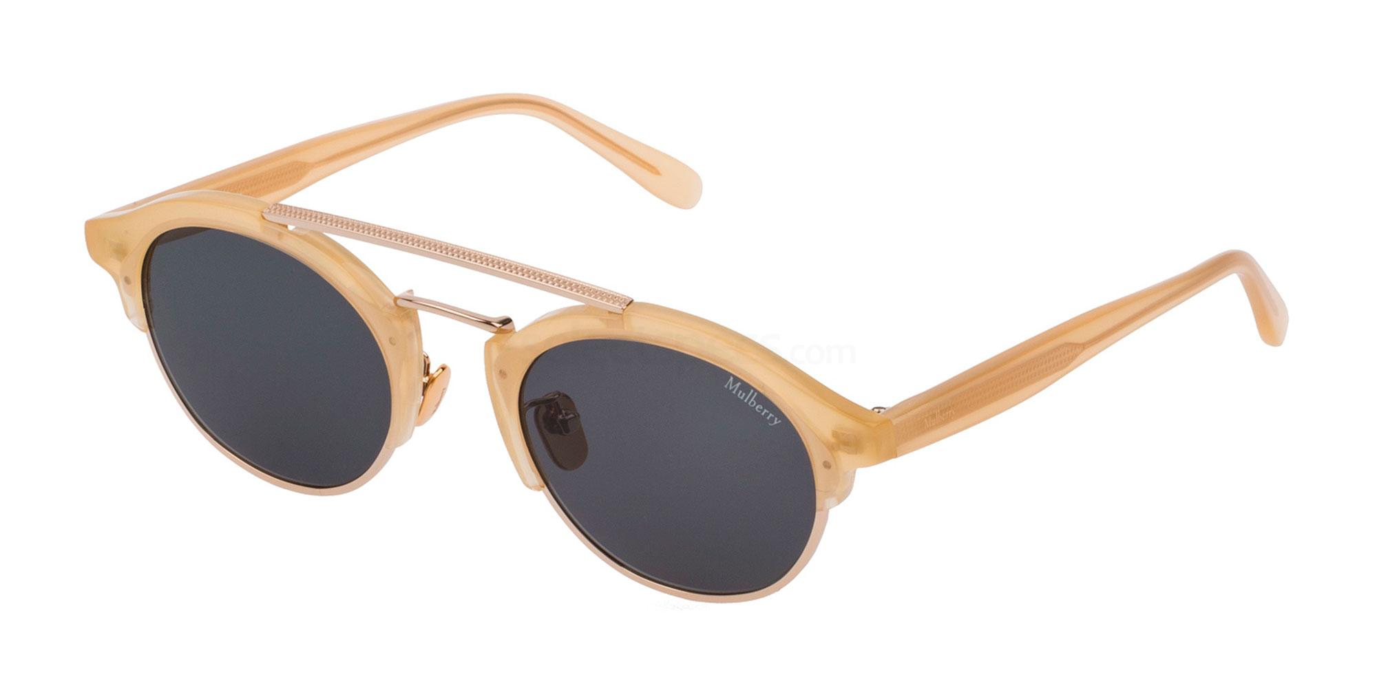 Mulberry SML006 skinny sunglasses