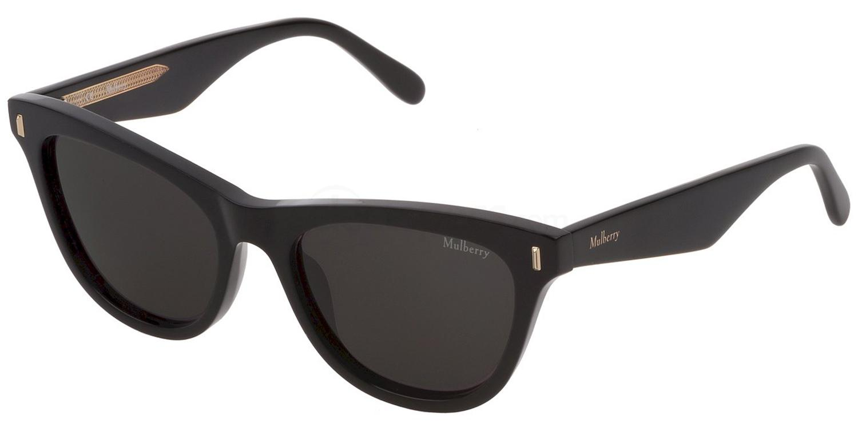 0BLK SML035 Sunglasses, Mulberry