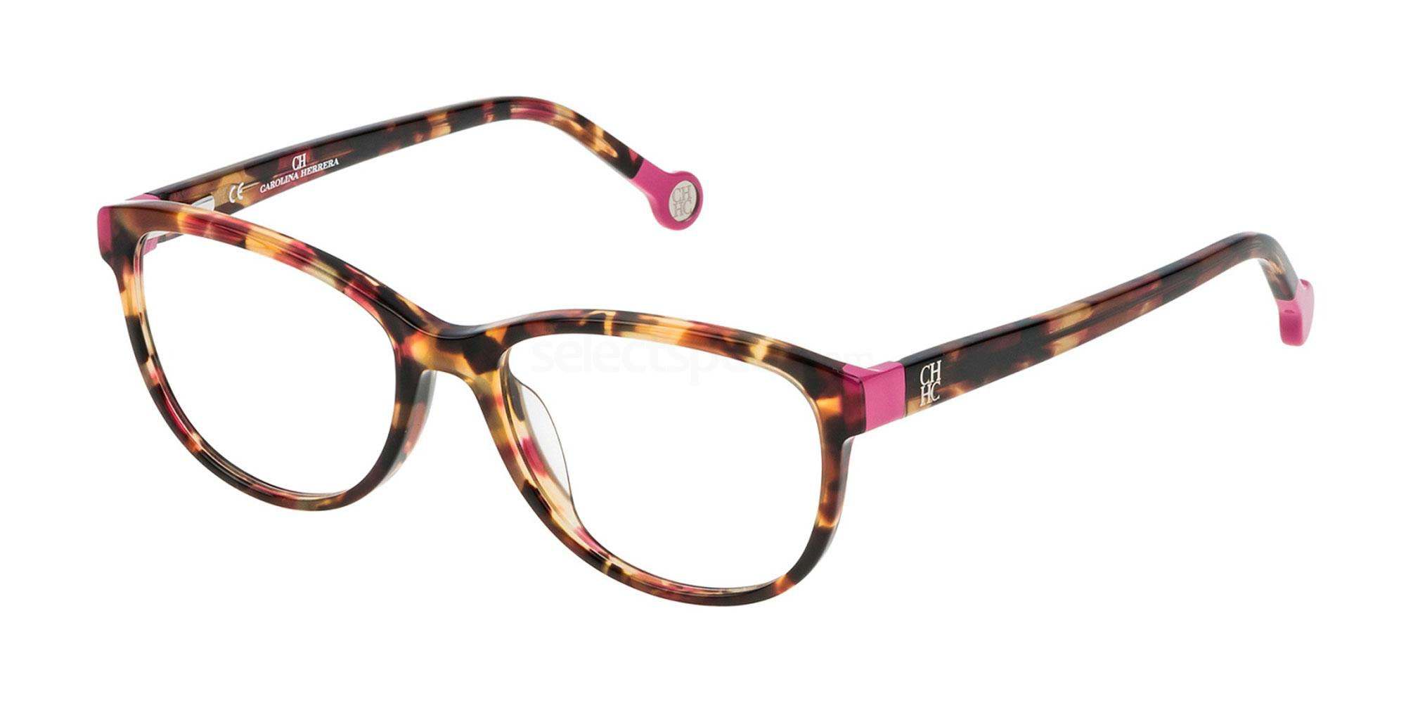 01GQ VHE678 Glasses, CH Carolina Herrera