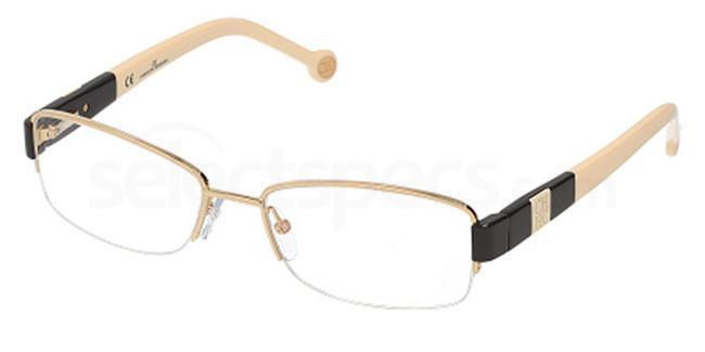 0300 VHE036 Glasses, CH Carolina Herrera