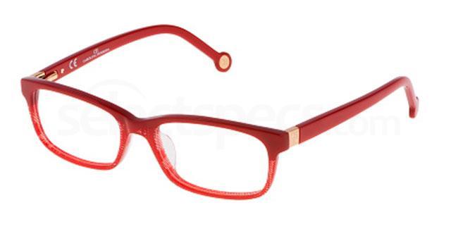 09LB VHE625 Glasses, CH Carolina Herrera