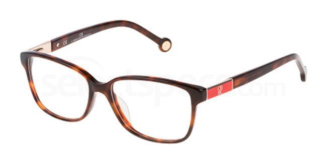 09XK VHE659 Glasses, CH Carolina Herrera