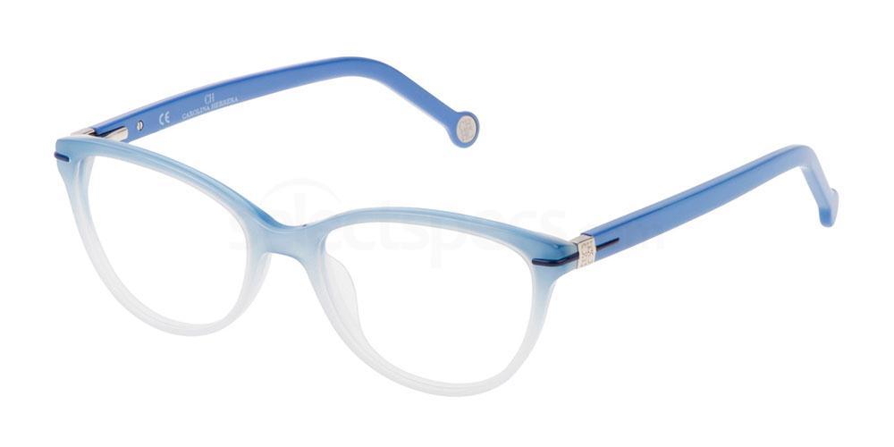 0N91 VHE660 Glasses, CH Carolina Herrera