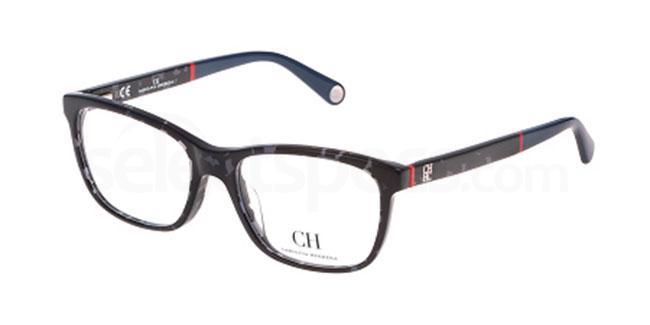 0809 VHE618 Glasses, CH Carolina Herrera