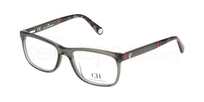 06S8 VHE619 Glasses, CH Carolina Herrera