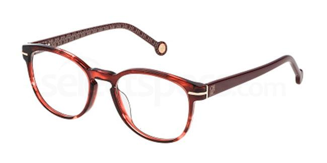 01EW VHE675 Glasses, CH Carolina Herrera