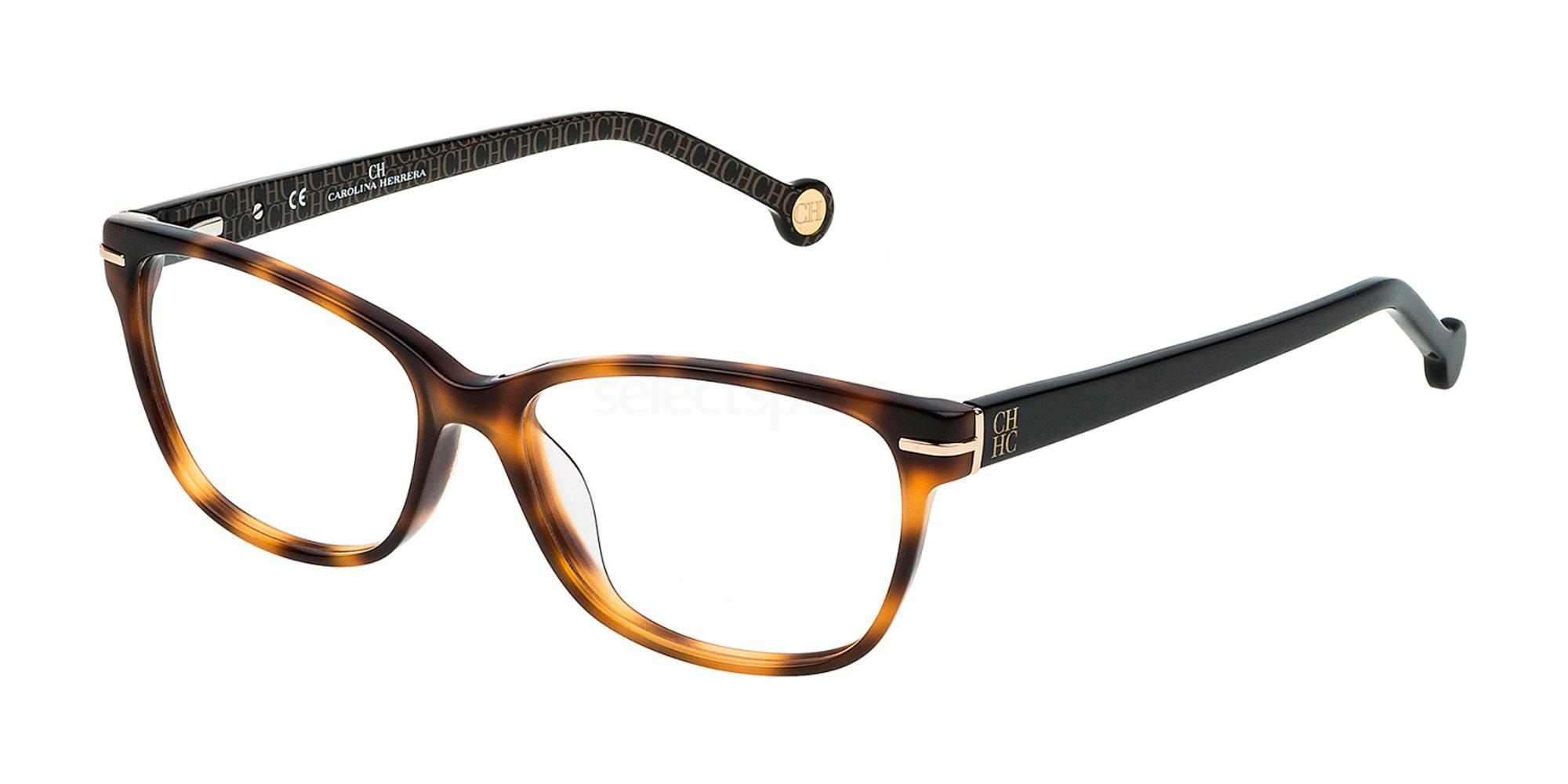 09AJ VHE635 Glasses, CH Carolina Herrera