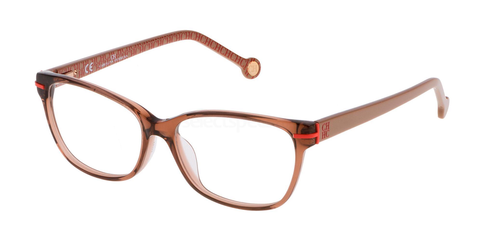 0B36 VHE635 Glasses, CH Carolina Herrera