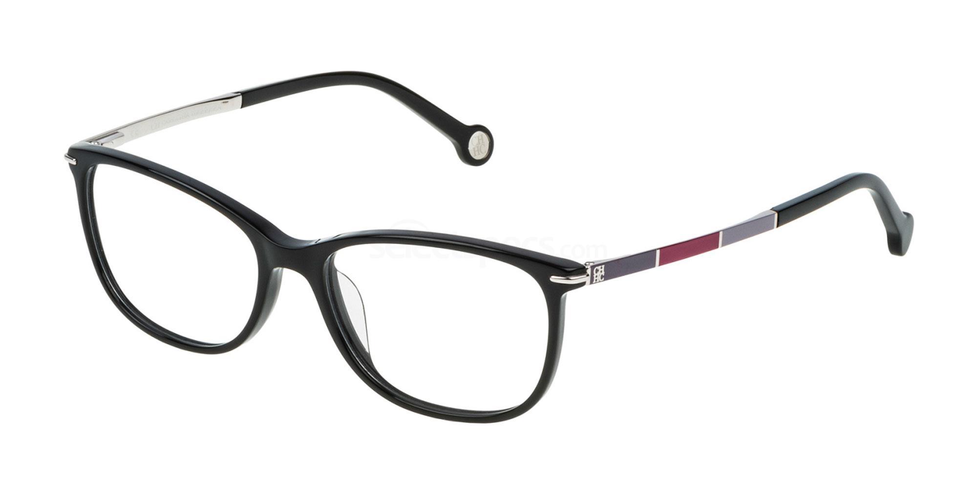 0700 VHE670 Glasses, CH Carolina Herrera