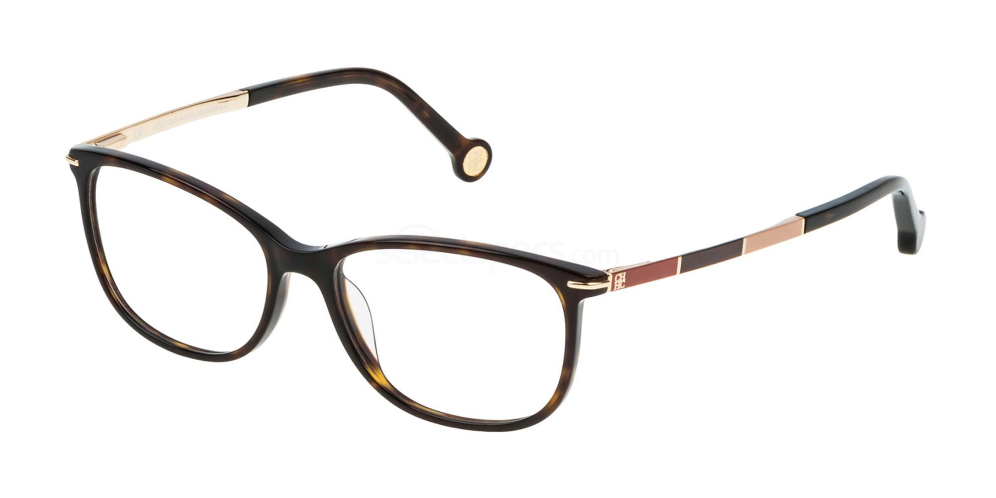 0722 VHE670 Glasses, CH Carolina Herrera