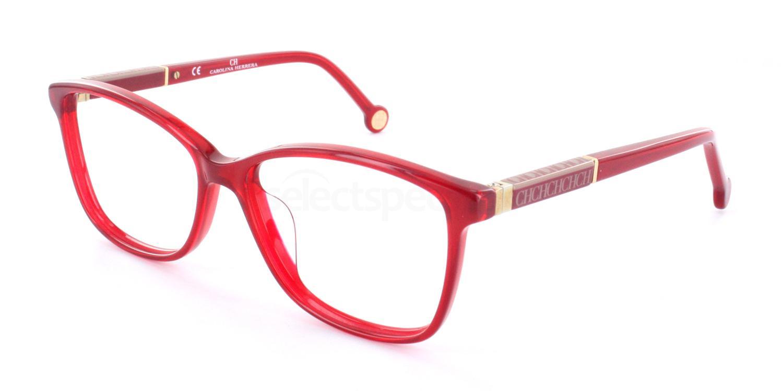 0849 VHE672 Glasses, CH Carolina Herrera