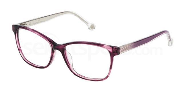 06XD VHE676 Glasses, CH Carolina Herrera