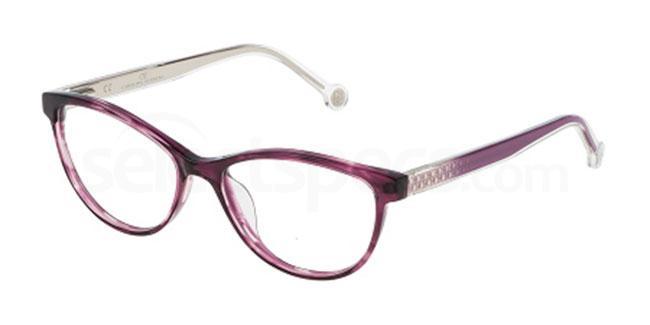 06XD VHE677 Glasses, CH Carolina Herrera
