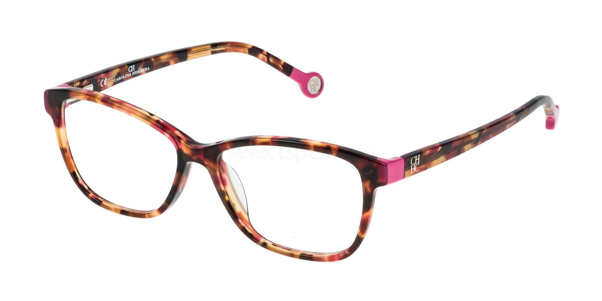01GQ VHE679 Glasses, CH Carolina Herrera