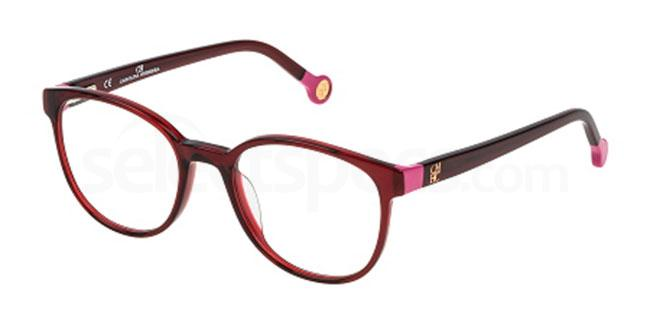 0954 VHE680 Glasses, CH Carolina Herrera
