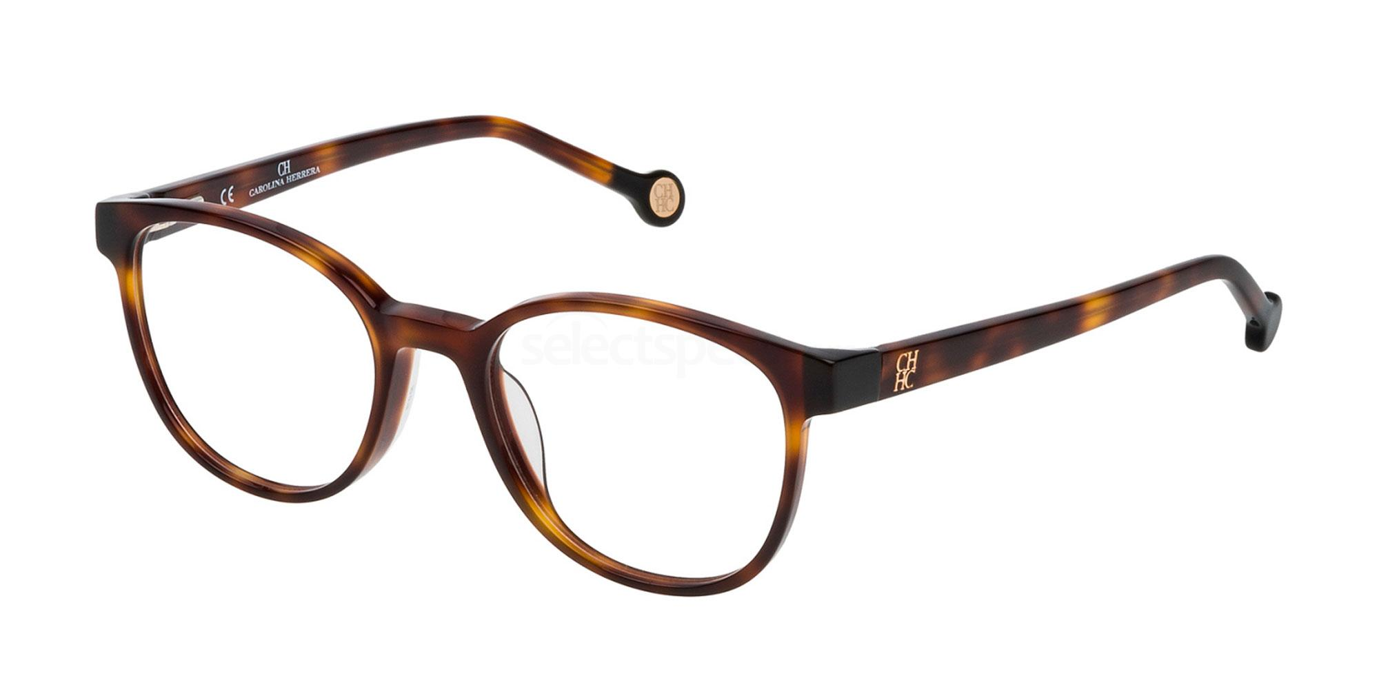 0752 VHE680 Glasses, CH Carolina Herrera